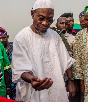 Aregbesola meets farmers