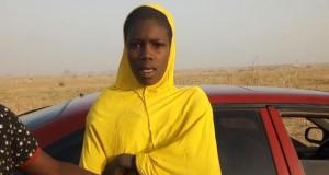 Arrested female suicide bomber