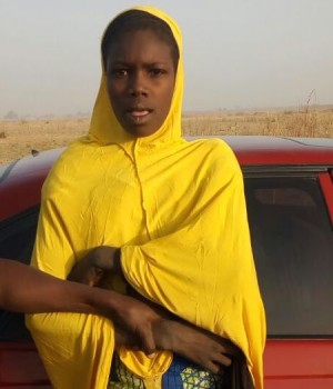 Arrested female suicide bomber