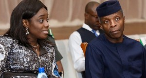 Kemi-Adeosun-and-Acting-President Yemi Osinbajo