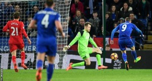 Leicester outclassed Liverpool