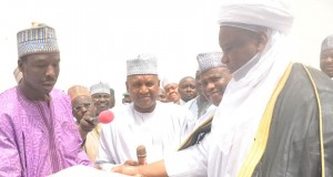 Launch of Rice out grower scheme in Sokoto