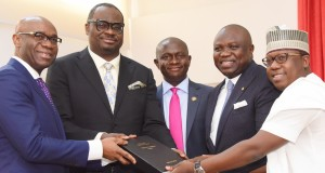 GOV. AMBODE RECEIVES REPORT ON EMBEDDED POWER INITIATIVE FROM THE TECHNICAL COMMITTEE