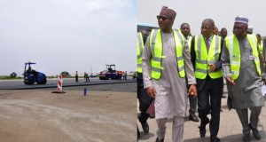 Abuja airport runway rehabilitation inspection