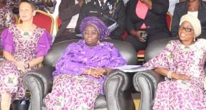 L-R, Finland Ambassador to Nigeria, Pirjo Suomela Chowodhury, Lagos Deputy Governor, Dr Idiat Oluranti Adebule, Wife of the Governor Lagos State, Mrs Bolanle Ambode