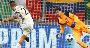 Juventus led by 3-0