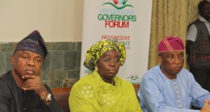Lagos Dep. Gov. Adebule at the APC Secretaries to State Governments forum