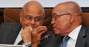Pravin Gordhan and President Zuma