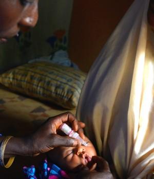Polio immunisation,