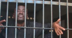 Yushau Shuaib in Computer Centre of Kirikiri Medium Security Prison Lagos