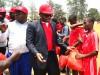Zenith's dep. MD Ebenezer Onyeagwu with the players