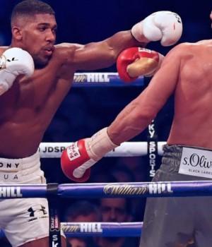 Anthony-Joshua vrs Wladimir-Klitschko-Weigh-In-Wembley
