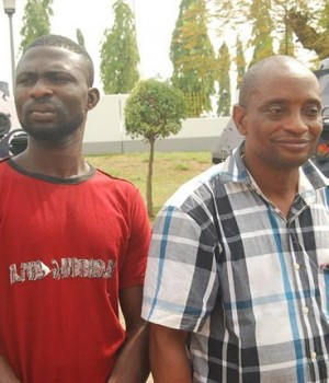 Two of the suspected Melaye's hired killers