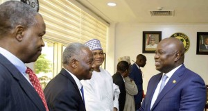 Gov. Ambode meets with MAN officials