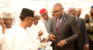 Kufre Ekanem, NB Plc Corporate Affairs Adviserwith Gov. el-Rufai, Oyegun, Ganduje and Yari