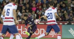 Neymar hits 100th goal for Barca