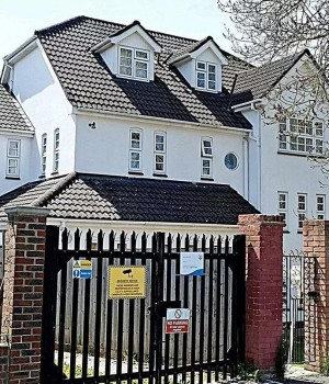 Nigerians' home in UK