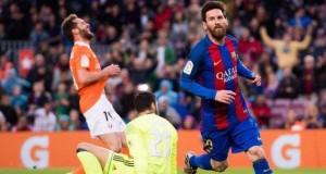 Messi leads Osasuna's demolition