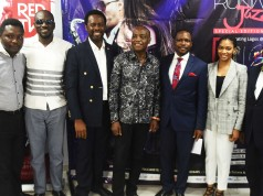 l-r: Ini Uko, Sweetsound Band, Adeniji (Heavywind), Obinna Okerekeocha, Creative Director, REDTV, Xerona Duke Artiste, Dede Mabiaku, Artiste, Folusho Phillips, MD/CEO Phillips Consulting, Afolabi Oke, Executive Director Runway Jazz