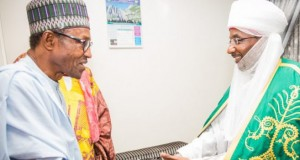 President Buhari and Emir Sanusi, not a laughing matter