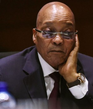 South Africa's Jacob Zuma