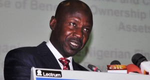 Magu, speaking at the conference