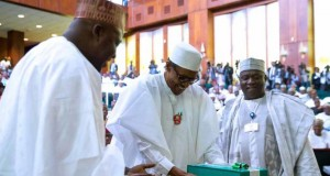 President Buhari presented the 2017 Budget in December 2016