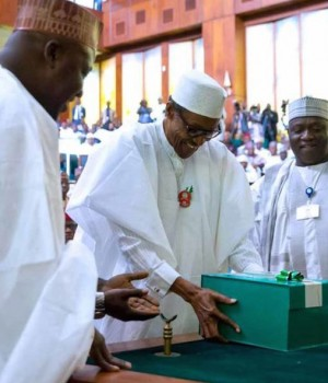 President Buhari presented the 2019 Budget