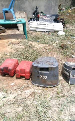 Abandoned explosives