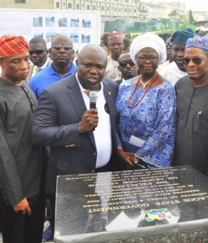 Gov. Ambode commissions the Abule Egba, Ajah flyovers