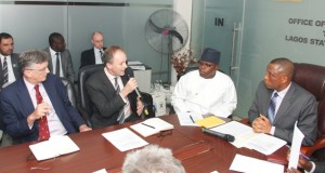 United Kingdom Royal College of Defence Studies officials with Lagos SSG