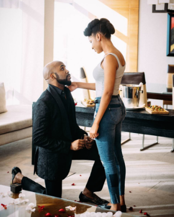 Banky-W and Adesua for real
