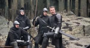 Beckham stars in King Arthur: Legend Of The Sword.