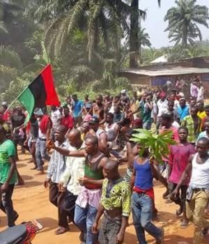 Biafra-Agitators