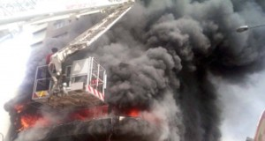 Fire disaster in Lagos
