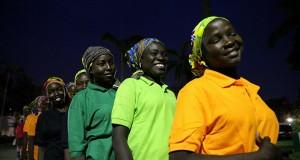 Freed Chibok girls