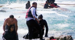 Coast guards recovered bodies of dead migrants