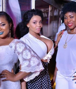 Cossy Orjiakor and others for Asaba All white Party