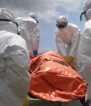 Ebola victim cremation