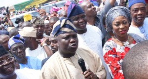 Gov. Ambode commissioning roads