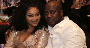 Mercy Aigbe and husband, Lanre Gentry