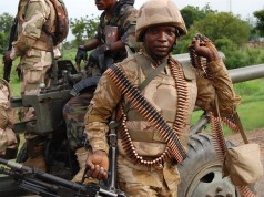 Nigerian-troops