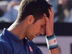Novak Djokovic humbled