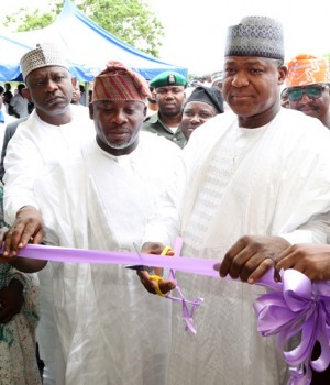 Dogara commissions Skills Acquisition Centre Facilitated by Hon Yusuf Tajudeen in Iyara, Kogi State