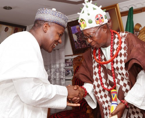 Dogara and Obadofin of Oweland, Kabba, Oba Michael Yusuf