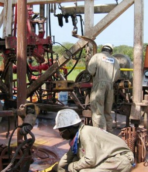 Oil Search in Chad Basin