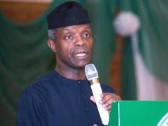 Yemi Osinbajo, Acting President