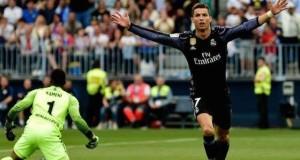 Ronaldo sinks Malaga to claim La Liga title
