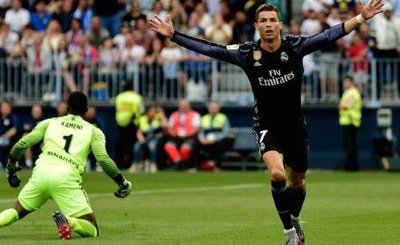 Watch Cristiano Ronaldo score record-breaking goals in La Liga — Real Madrid