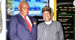 SAHC Lulu Louis Mnguni, and Lai Mohammed